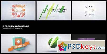 Premium Logo Pack 6in1 - 5372206 - After Effects Projects
