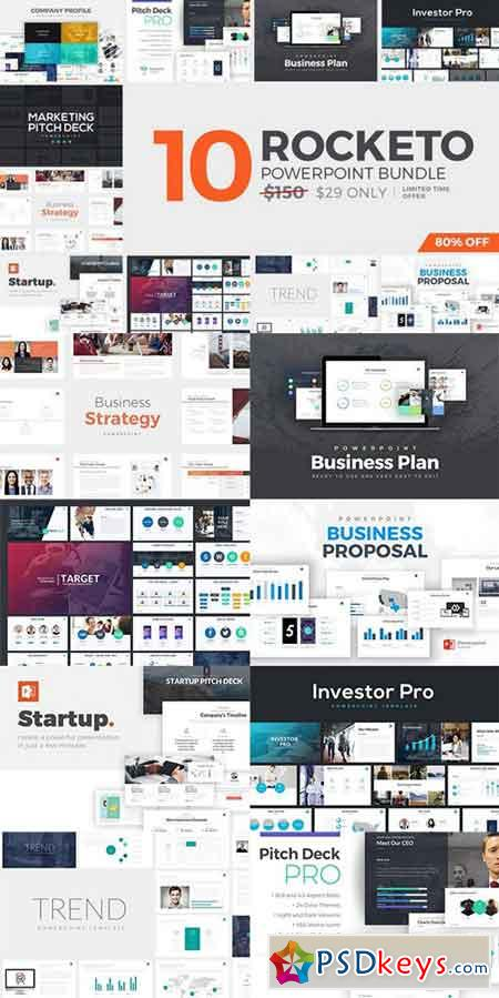 Rocketo powerpoint templates bundle 803675 free download photoshop rocketo powerpoint templates bundle 803675 toneelgroepblik Images
