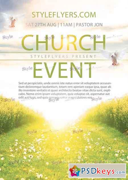 free flyer templates for church events - church event v1 psd flyer template free download