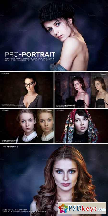 Pro Portrait Lightroom Presets 837754