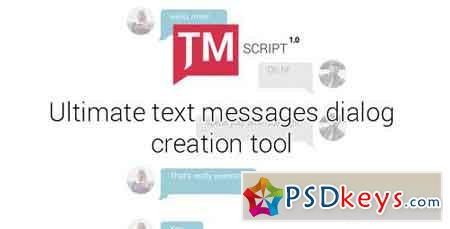 Text Messages Ultimate Kit TMScript 1.01 15644656 - After Effects Projects