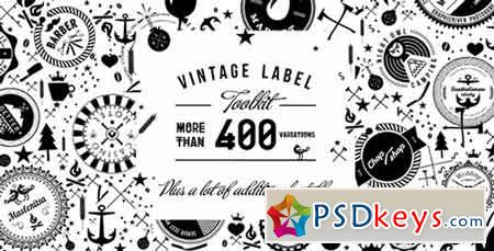 Vintage Label Toolkit 7262450 - After Effects Projects