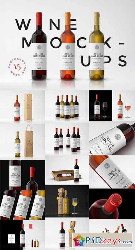 Wine Packaging Mockups 838748