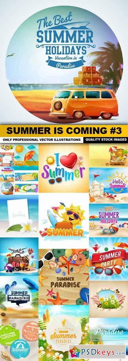 Summer Is Coming #3 - 20 Vector