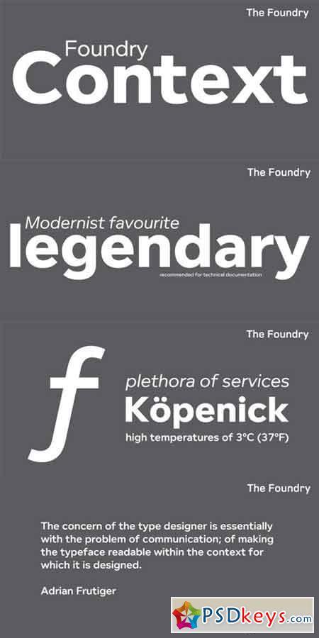 frutiger font family torrent download