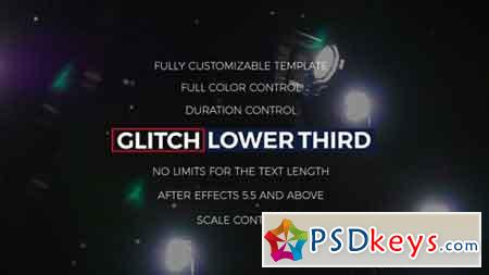 Glitch Lower Thirds & Titles 17100890 - After Effects Projects