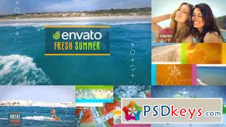 Stylish Summer Slideshow 17303584 - After Effects Projects