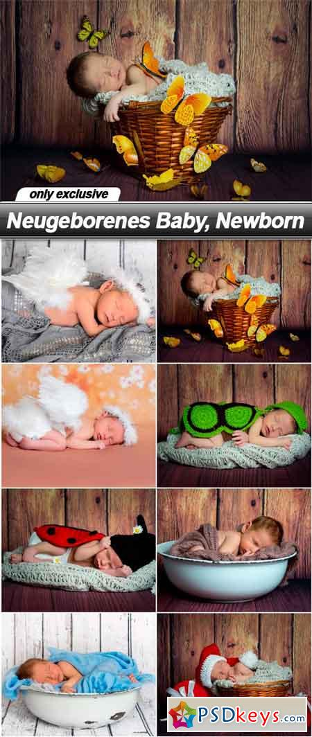 text neugeborenes baby