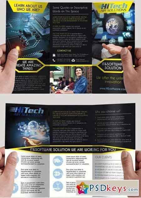software brochure templates - brochures free download photoshop vector stock image via