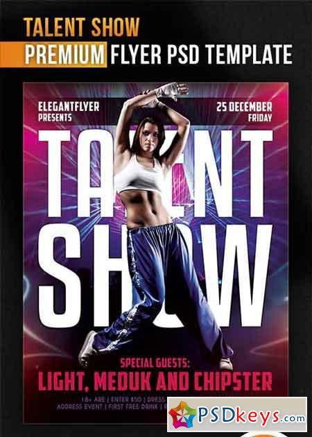 show flyer