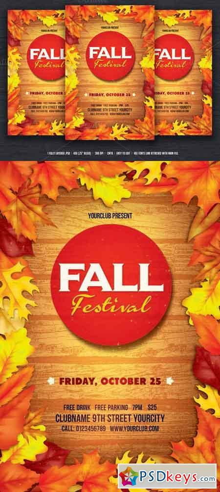 Fall Flyer  WowcircleTk