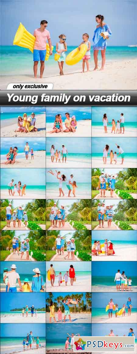Young family on vacation - 25 UHQ JPEG