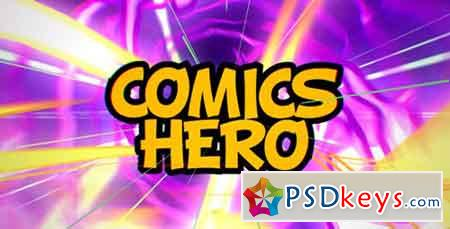 Comics Hero (Broadcast Pack) 15644476 - After Effects Projects