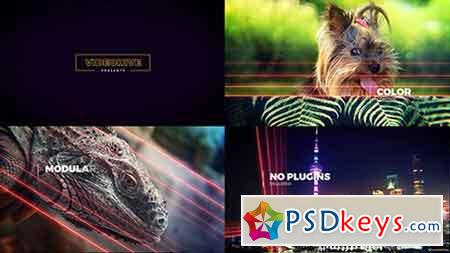 Lightlines Slideshow 14100480 - After Effects Projects