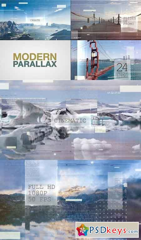 Modern Parallax Slideshow 17272015 - After Effects Projects