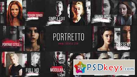 Portretto Grunge Slideshow 17277802 - After Effects Projects