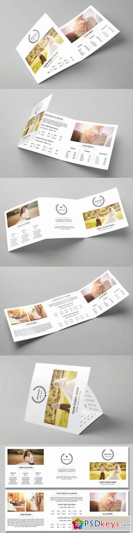 Trifold Price List Template -V511 707989