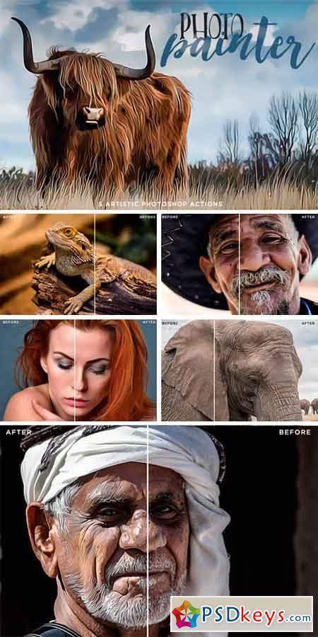 Photo Painter Photoshop Actions 1 863520