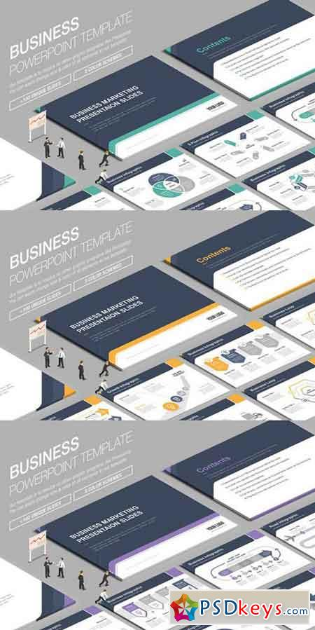 Business Powerpoint Template 834767