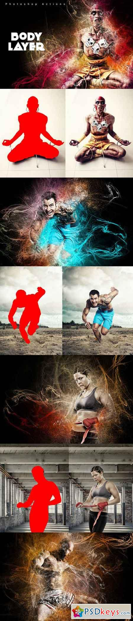 Body Layers Photoshop Actions 847901