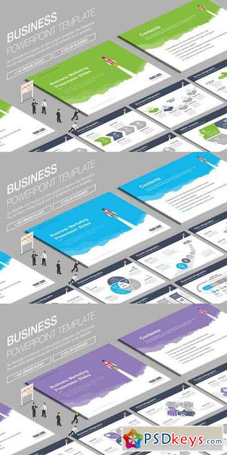 Business Powerpoint Template 844994