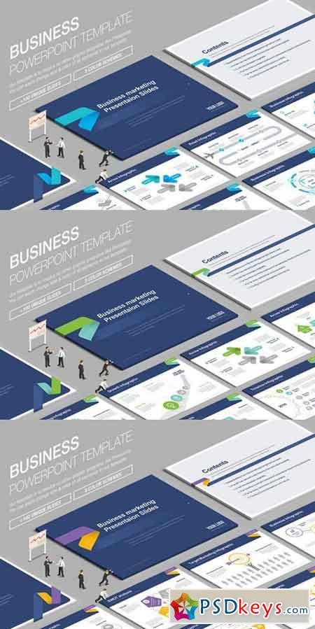 Business Powerpoint Template 840311