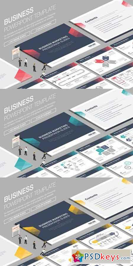 Business Powerpoint Template 842825