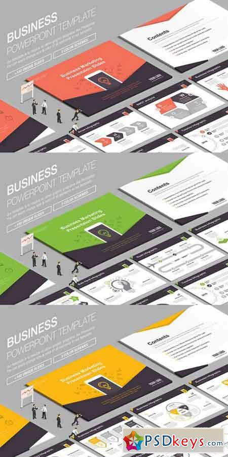 Business Powerpoint Template 847609