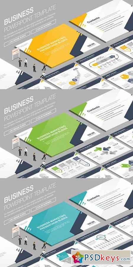 Business Powerpoint Template 846621