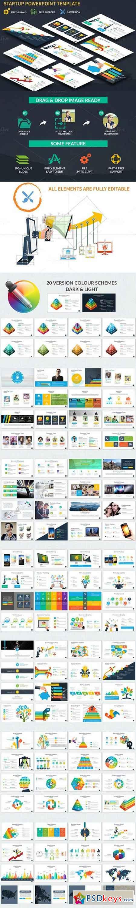 Startup Powerpoint Template 829964