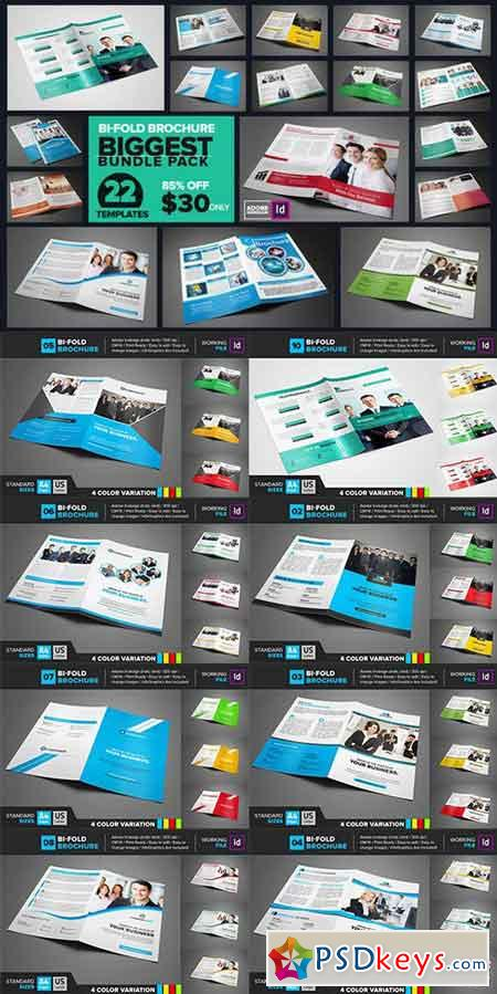 Bi-Fold Brochure Biggest Bundle 865421