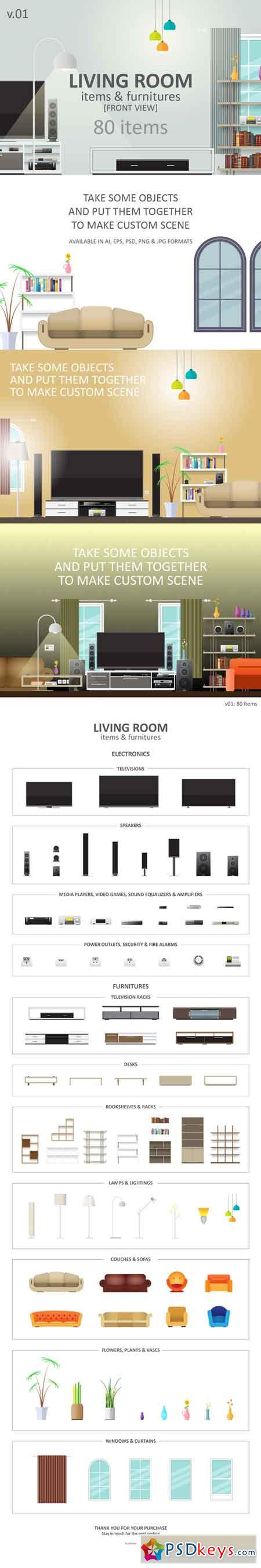 Living Room Items 713961
