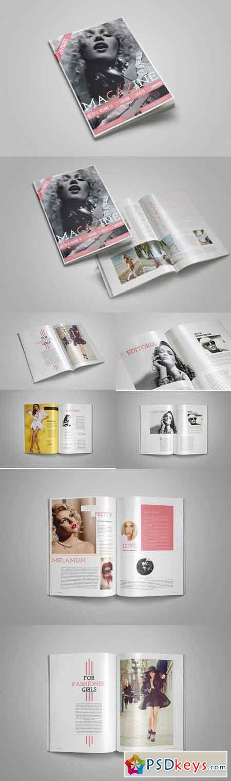 Fashion Indesign Magazine Template 709810