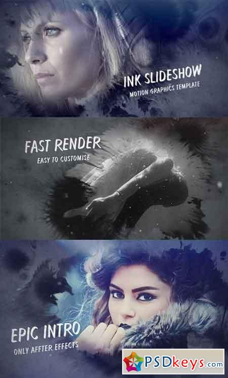 Ink Slideshow 17306110 - After Effects Projects » Free Download