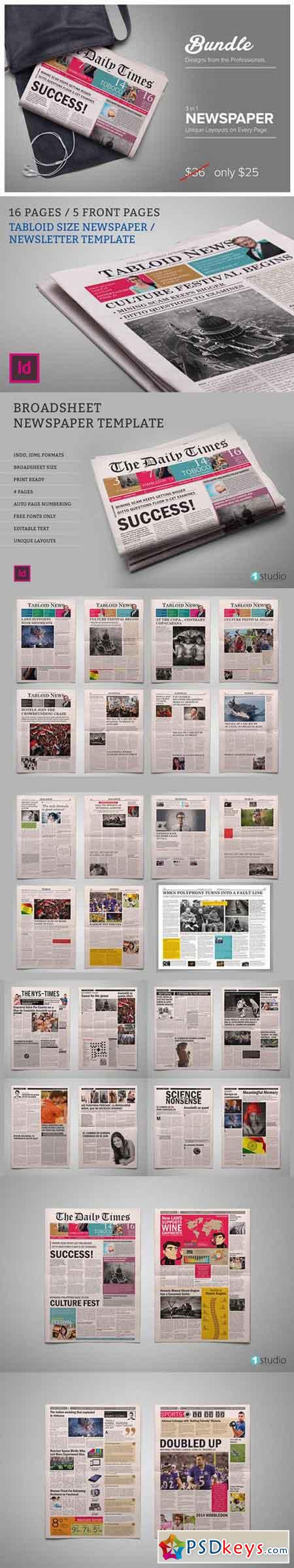 Newspaper Bundle 879924