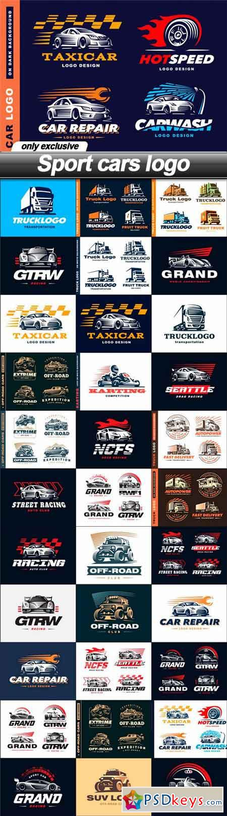 Sport Cars Logo 34 Eps Free Download Photoshop Vector Stock