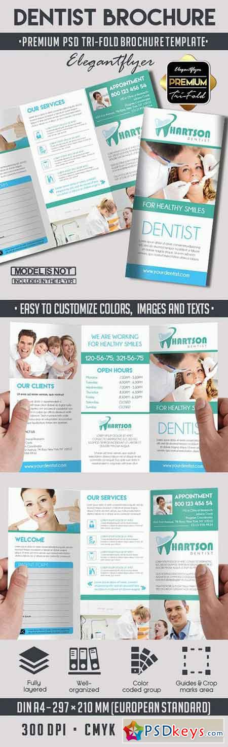Brochures page 10 free download photoshop vector stock for Tri fold brochure template psd
