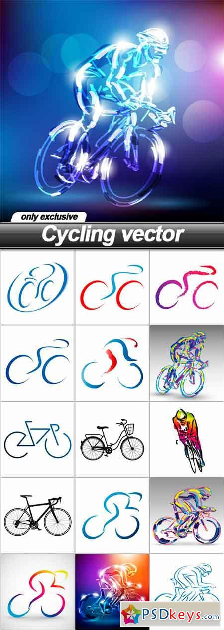 Cycling vector - 16 EPS