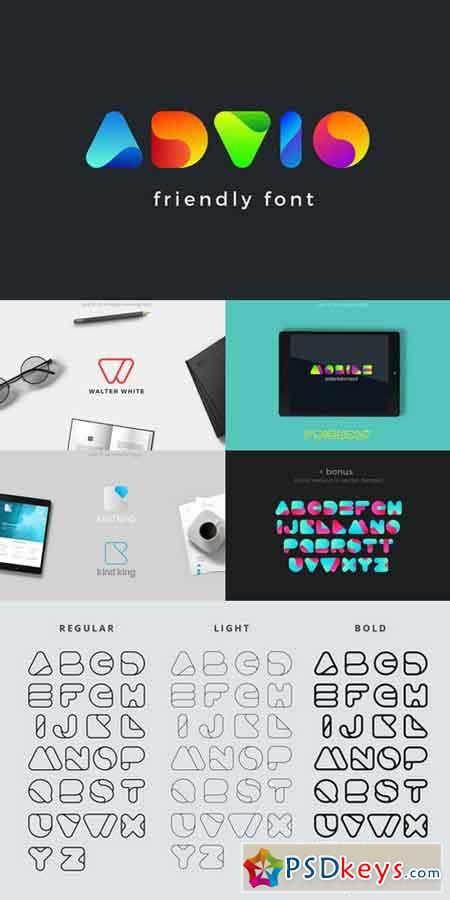 Advio friendly font 887689