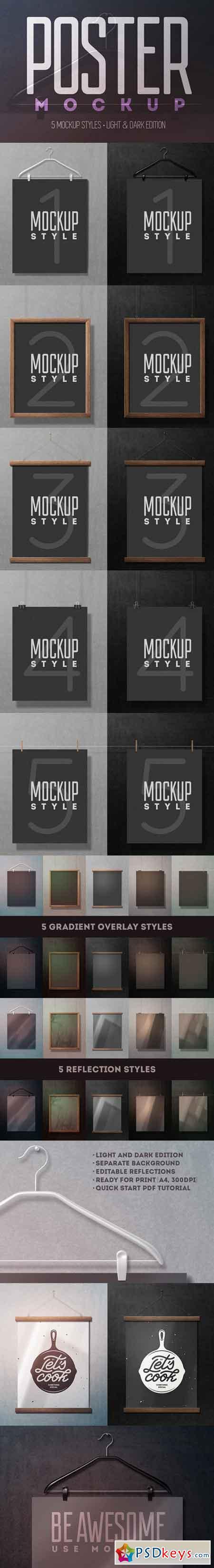 Poster Mockup 899390