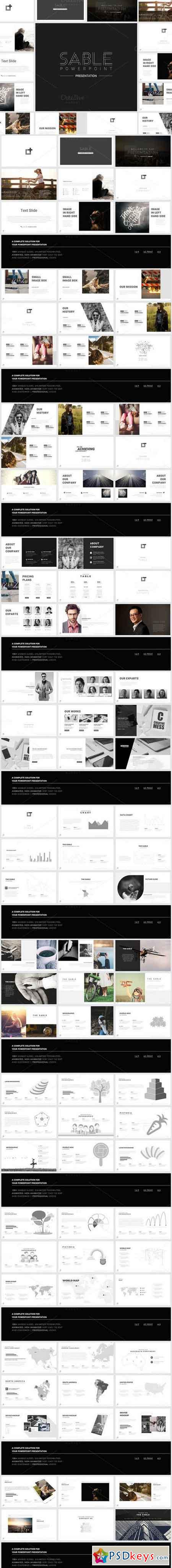 Sable Powerpoint Template 897253