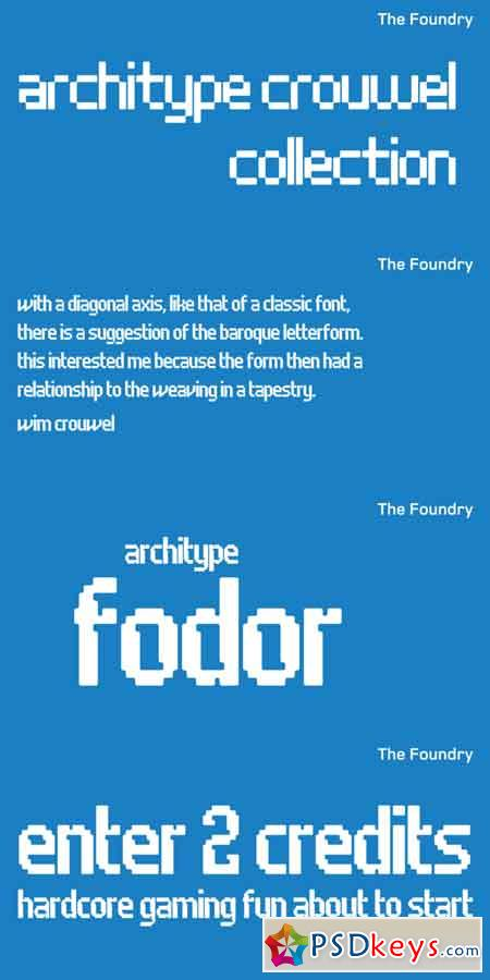 Architype Fodor Font