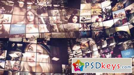 Multi Screen Slideshow 17354465 - After Effects Projects