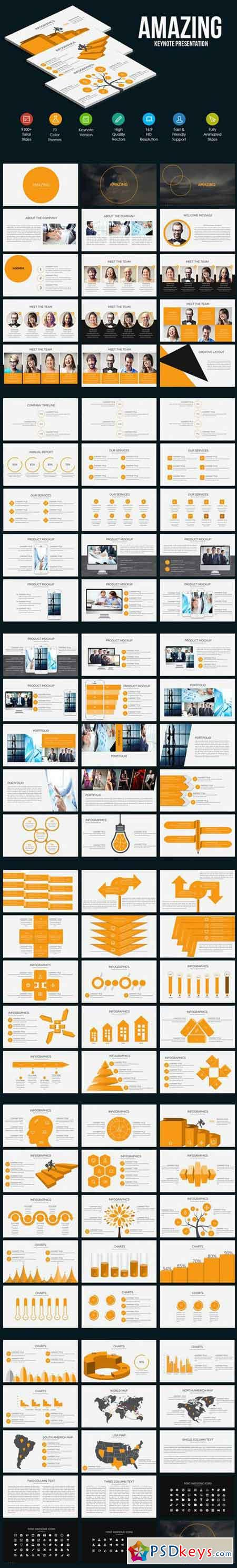 Amazing Keynote Template 896651
