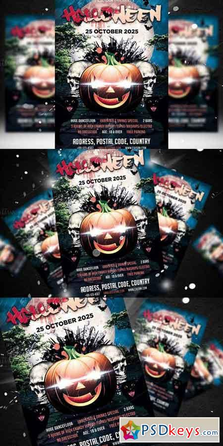 Halloween Flyer Template 5 357944