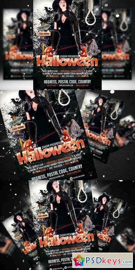 Halloween Flyer Template 352687