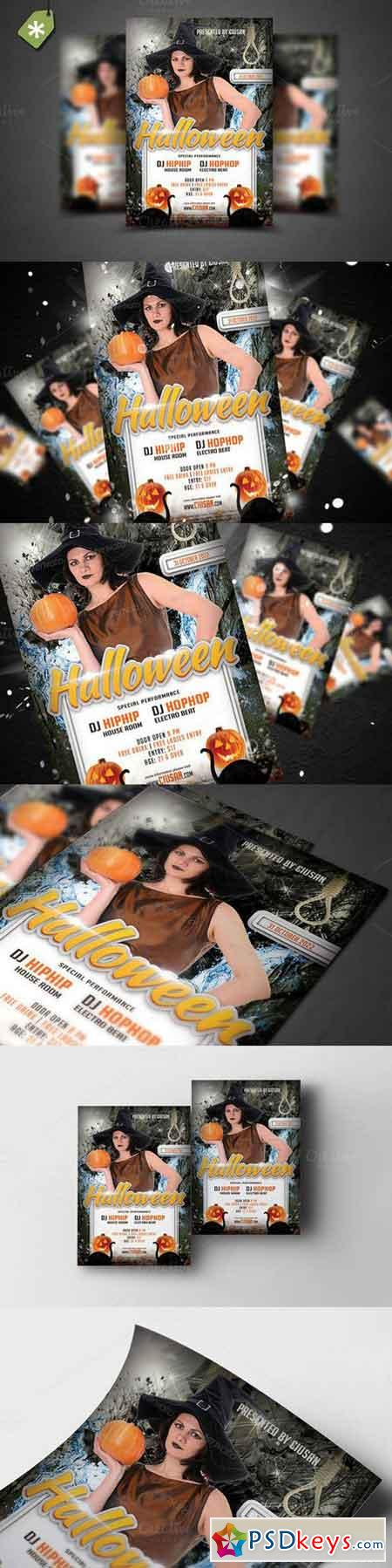Halloween Flyer Template 8 896740