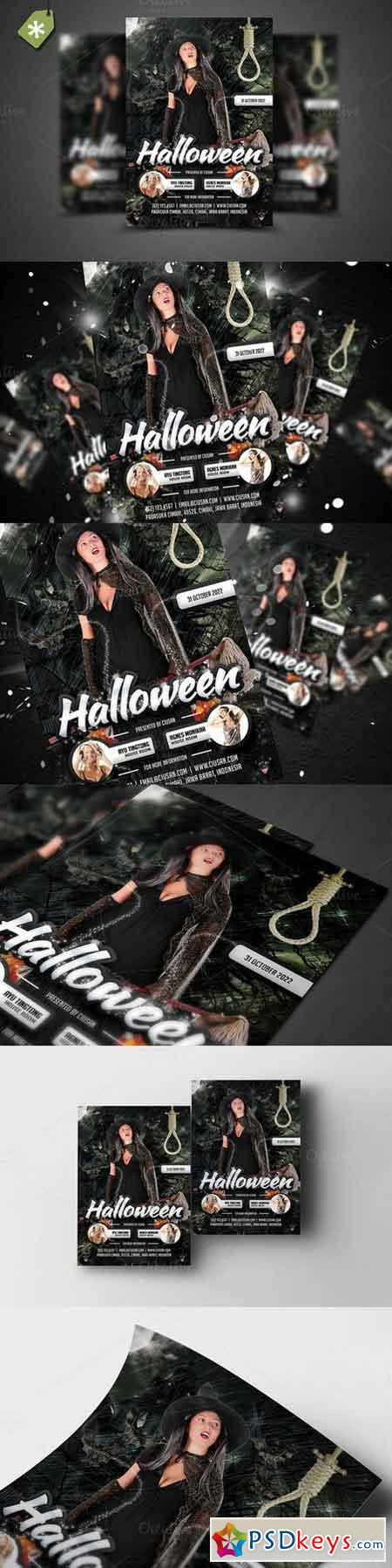 Halloween Flyer Template 6 874143