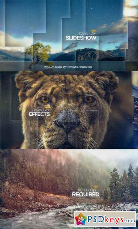 Parallax Slideshow 17766304 - After Effects Projects