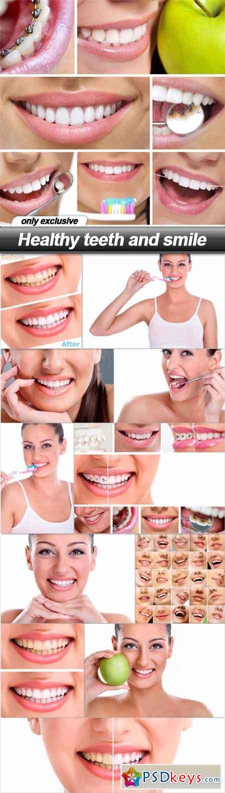 Healthy teeth and smile - 12 UHQ JPEG